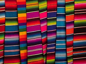 Serape - Colorful contemporary sarapes.
