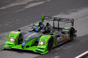 2009 American Le Mans Series - David Brabham (pictured) and Scott Sharp won the LMP1 class title for Patrón Highcroft Racing.