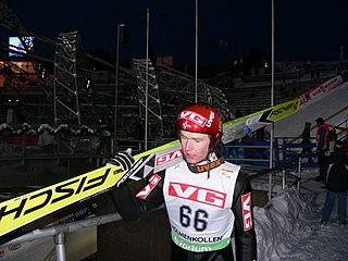 Norwegian ski jumper