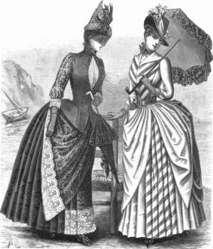 Fashions from La Mode Illustrée