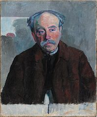 Portrait of Henri Rousseau