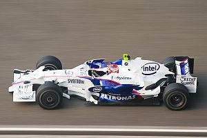 2008 Chinese Grand Prix - Robert Kubica on his way to his sixth placing