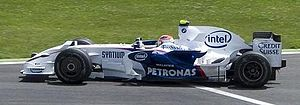 2008 French Grand Prix - Robert Kubica led the Drivers' Championship going into the race, but only managed seventh in qualifying.