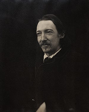 Tautira - Portrait of Robert Louis Stevenson, 1885.