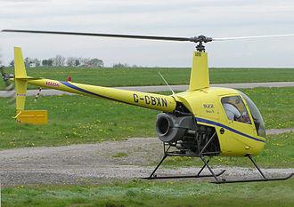 Robinson R22 - Robinson R22 hovering