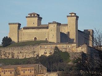Spoleto - The Rocca Albornoziana.