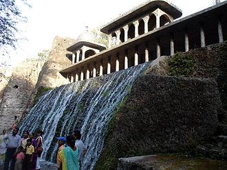 Nek Chand - A waterfall in Nek Chand's Rock Garden