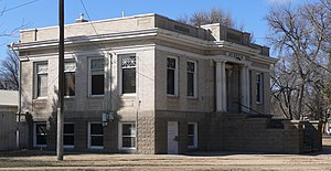 National Register of Historic Places listings in Otero County, Colorado - Image: Rocky Ford, Colorado Carnegie library from E 1