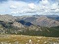 Rocky Mountain National Park, Colorado, Flattop Mountain Trail, view to north.jpg