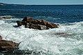 Rocky shore & waves (next to Thunder Hole, Mt. Desert Island, Maine, USA) 15.jpg