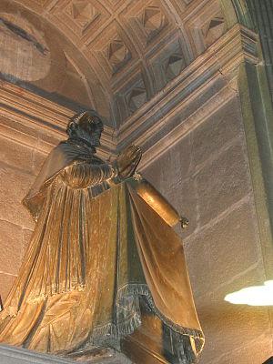 Rodrigo de Castro Osorio -  Rodrigo de Castro, praying statue, by Giambologna.