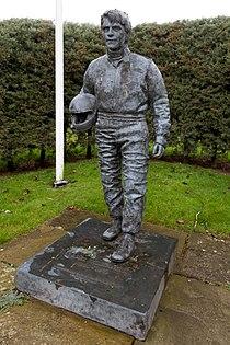 Roger Williamson statue Donington Park.jpg