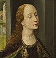Rogier van der Weyden (1399of1400-1464) - Buste van Ste. Catharina - Lissabon Museu Calouste Gulbenkian 21-10-2010 13-11-07.jpg