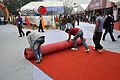 Rolling Out Red Carpet - Pride of India - Exhibition - 100th Indian Science Congress - Kolkata 2013-01-03 2592.JPG
