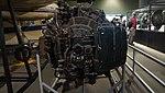 Rolls-Royce Derwent turbojet engine front view at Modern Transportation Museum March 23, 2014.jpg