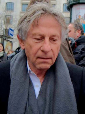 Roman Polanski in Paris at the lunch of the Cé...