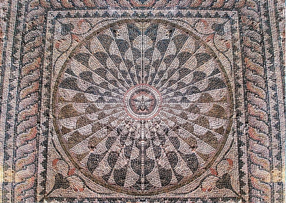Roman Villa of Manius Antoninus, Mosaic