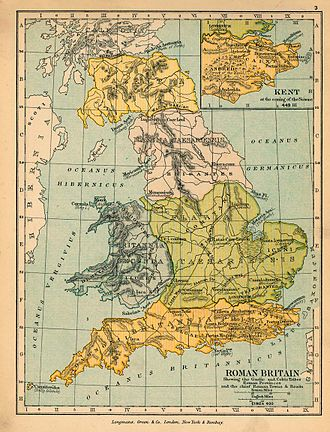 Terminology of the British Isles - Roman Britain in 410