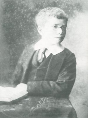 Ronald Fisher - As a child