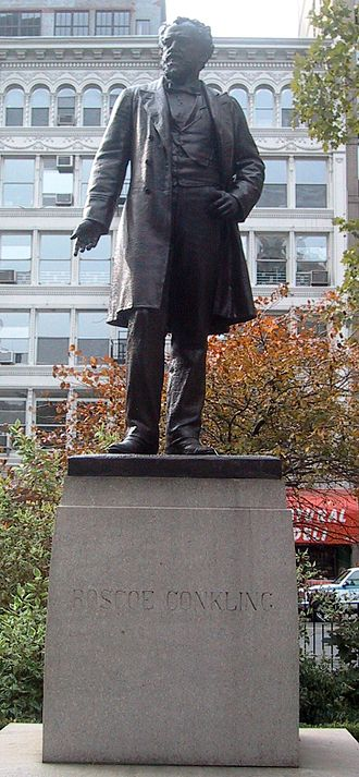 Roscoe Conkling - Madison Square Park