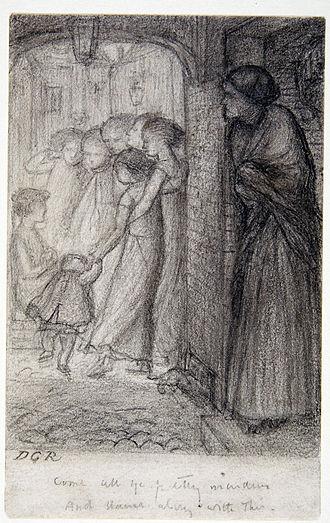 Found (Rossetti) - The Gate of Memory, c. 1854