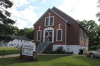 Rossville, Staten Island - Rossville A.M.E. Zion Church