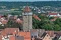 Rothenburg ob der Tauber, Kummereck, Röderturm, vom Rathausturm 20170526 001.jpg