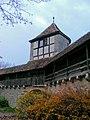 Rothenburg ob der Tauber - Turm an der Stadtmauer (West).JPG