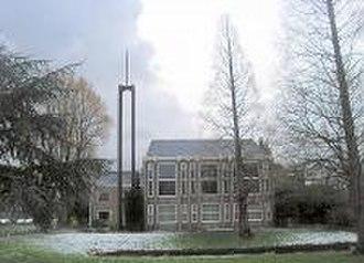 Feijenoord district - Image: Rotterdam Mare Kerk van Jezus Christus der Heiligen der Laatste Dagen uit 1958 lente 2008