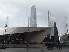 Rotterdam centraal blikdak II