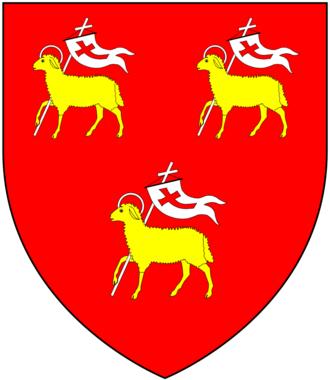 Nicholas Rowe (writer) - Image: Rowe (Of Lamerton) Arms