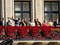 Royal Family, Stéphanie and Guillaume Wedding 2012.jpg