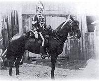 Royal Guides Corporal on Horseback