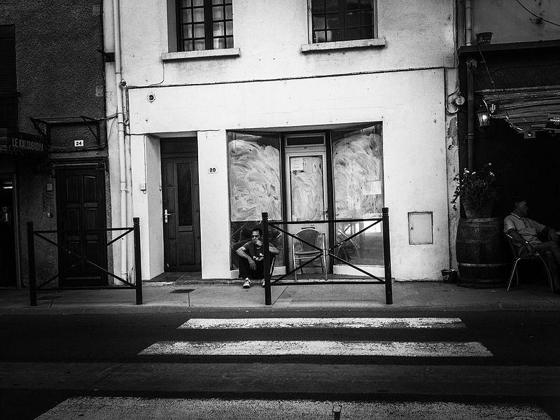 Rue de la mairie à Port la Nouvelle (France)