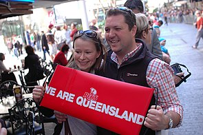 Rugby fans celebrate Queensland Reds title win in Super Rugby 2011.jpg