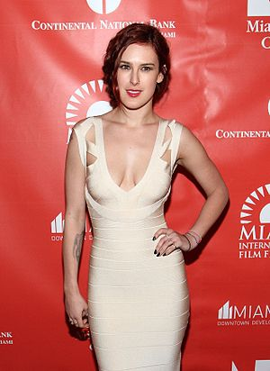 "Rumer Willis - Willis at the 2012 Miami International Film Festival presentation of ""The Diary of Preston Plummer"""
