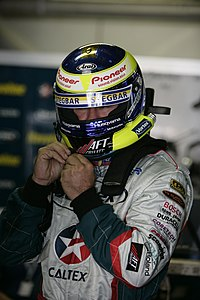 Quotations Auto Racing on Russell Ingall Suits Up For Caltex Racing