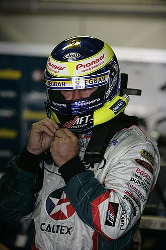 Russell Ingall - Russell Ingall with Caltex Racing in 2005