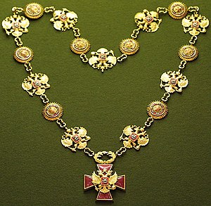 "Order ""For Merit to the Fatherland"" - Collar of the Order ""For Merit to the Fatherland"", used as chain of office of the President of the Russian Federation"