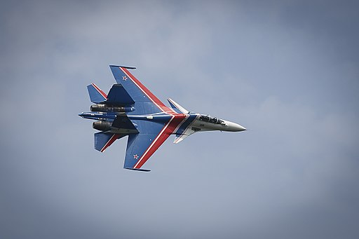 Russian Knights, Swifts practice intercepting MiG-31BM