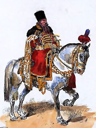 Boyar - Mounted Russian boyar from 17th century