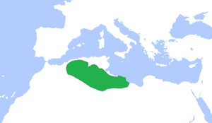 Rustamid dynasty - Image: Rustamid dynasty 900 ad