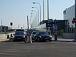 Ruzyně, terminál 2, příjezd na parkoviště P2.jpg