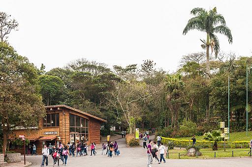 São Paulo Zoo - Área da entrada