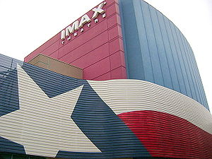 English: San Antonio Imax theater at the River...