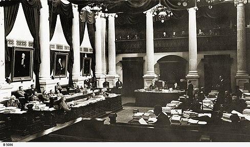 SA Lower House Chamber