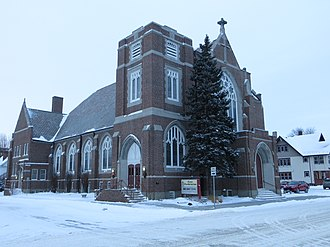 National Register of Historic Places listings in Brown County, South Dakota - Image: SD Aberdeen First Presbyterian Church