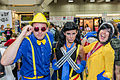 SDCC 2014 - X-Men with bow ties (14838059773).jpg