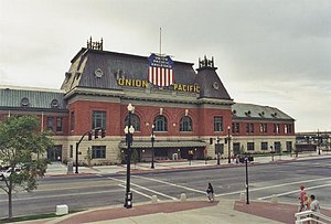 Salt Lake City Union Pacific Depot - Union Pacific Depot c. 2002