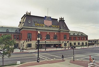 Salt Lake City Union Pacific Depot United States national historic site